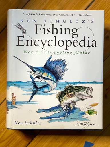 Fishing Encyclopedia world wide angling guide book