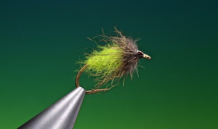 Rabbit under fur wet fly tied by Barry Ord Clarke