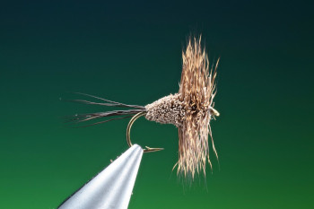 Deer hair mayfly dun tied by Barry Ord Clarke