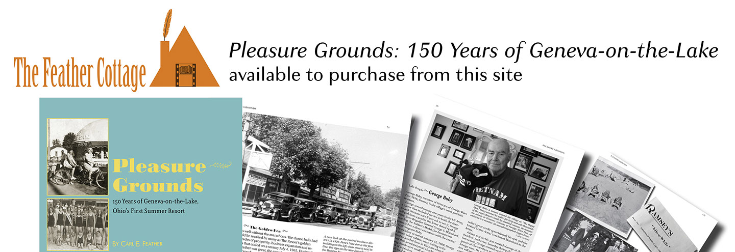 Purchase Pleasures Grounds 150 years of Geneva on the Lake from this website