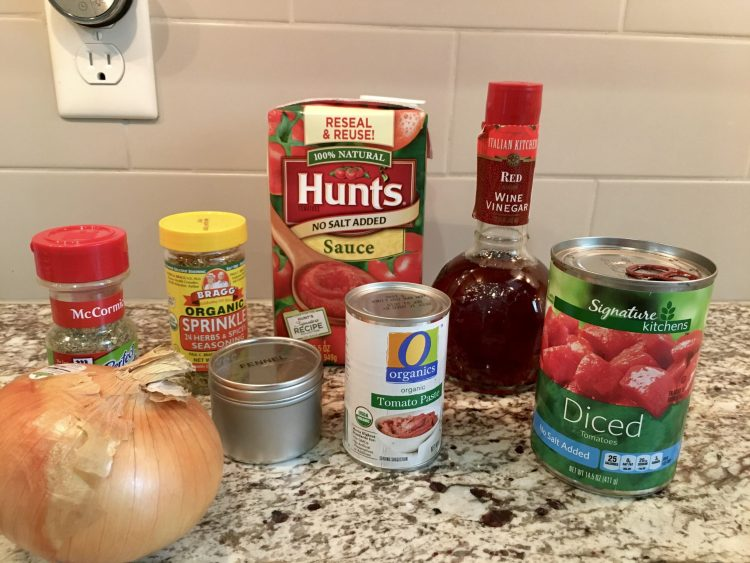 Low Sodium, gluten-free