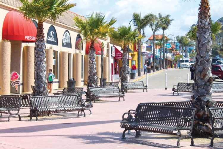 What to do in Pismo Beach: the downtown area