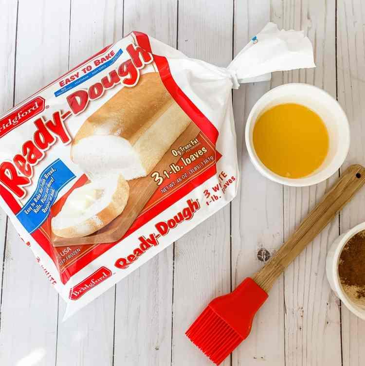 a bag of frozen ready dough