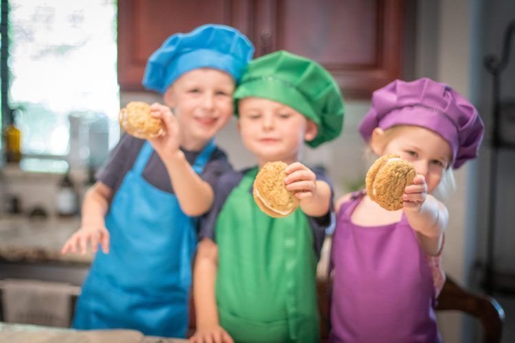 Oatmeal cookies recipe box