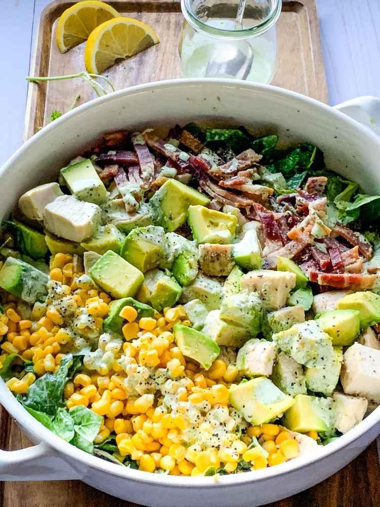 bowl of Chicken Cobb Salad