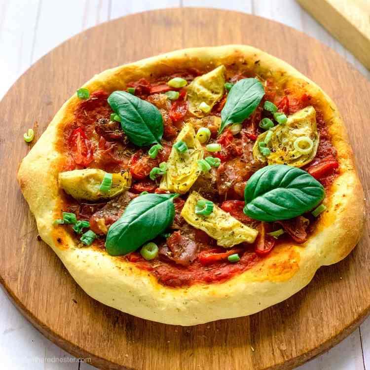 vegan dairy free pizza no cheese