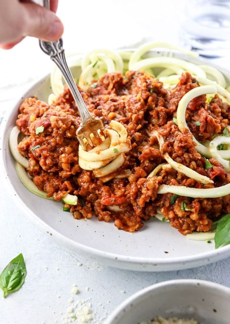 Vegetarian Bolognese in the Instant Pot