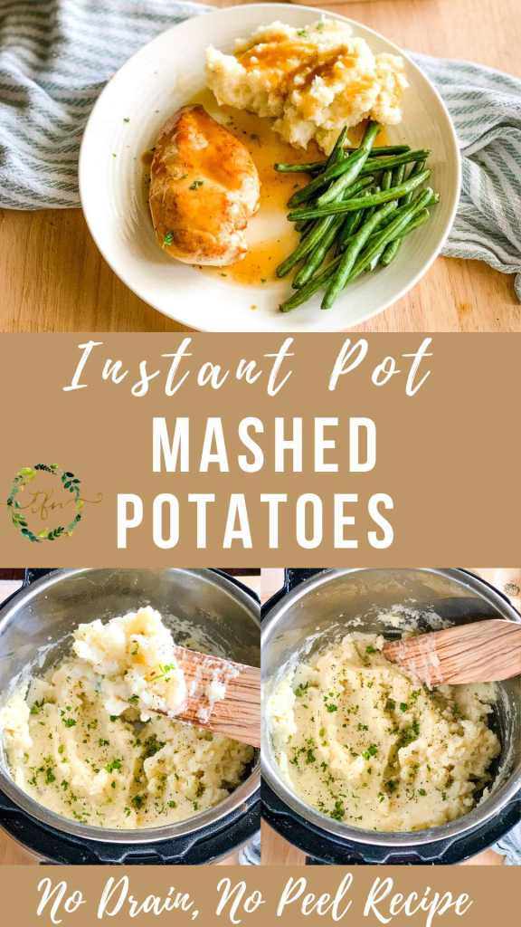 Instant Pot Mashed Potatoes photo collage