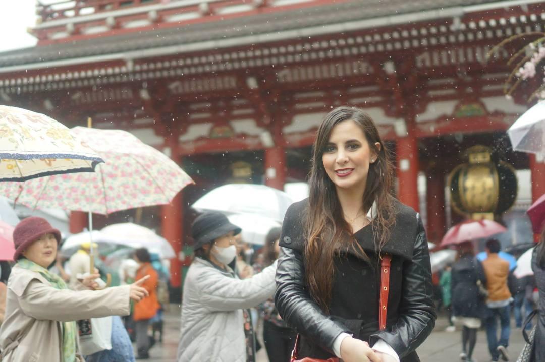 Visiting Asakusa Shrine