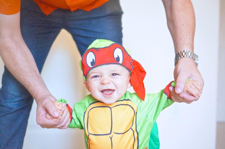 TMNT Costume - TheFebruaryFox.com
