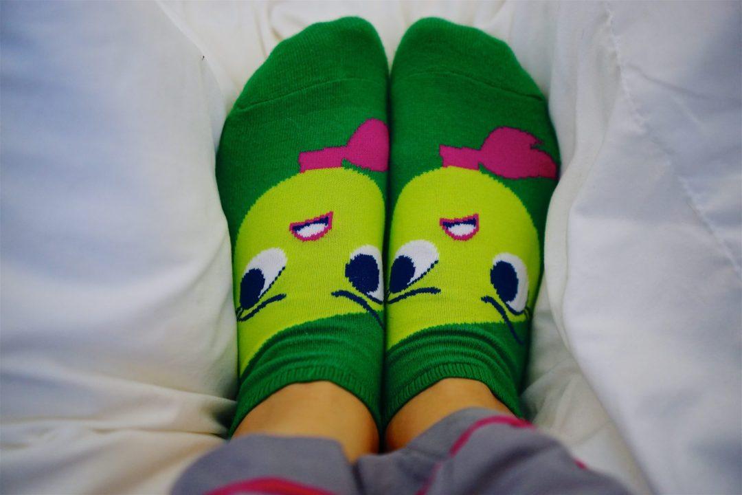 Inside Out Socks - The February Fox