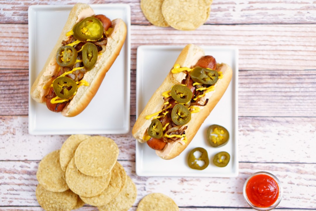 Spicy Game Time Seattle Hot Dogs - TheFebruaryFox.com