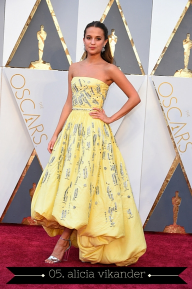 Alicia Vikander 2016 Oscars - TheFebruaryFox.com