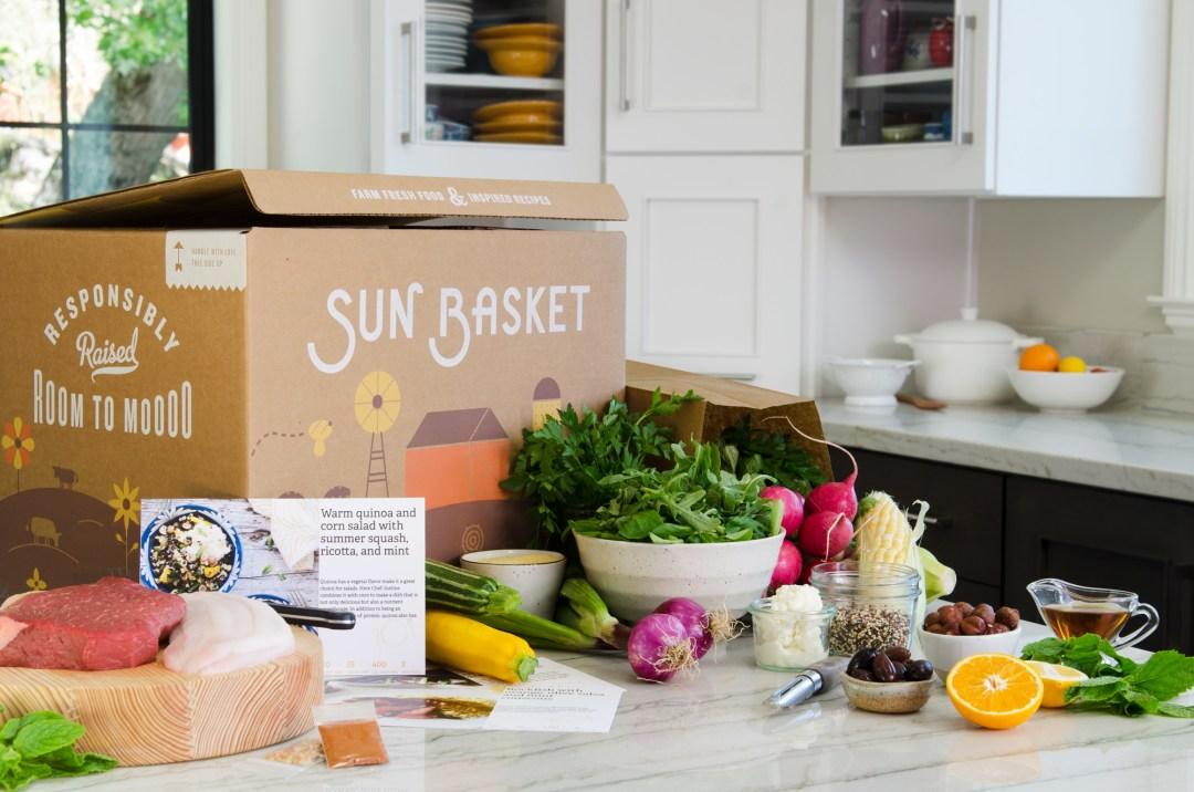 Sun Basket - TheFebruaryFox.com