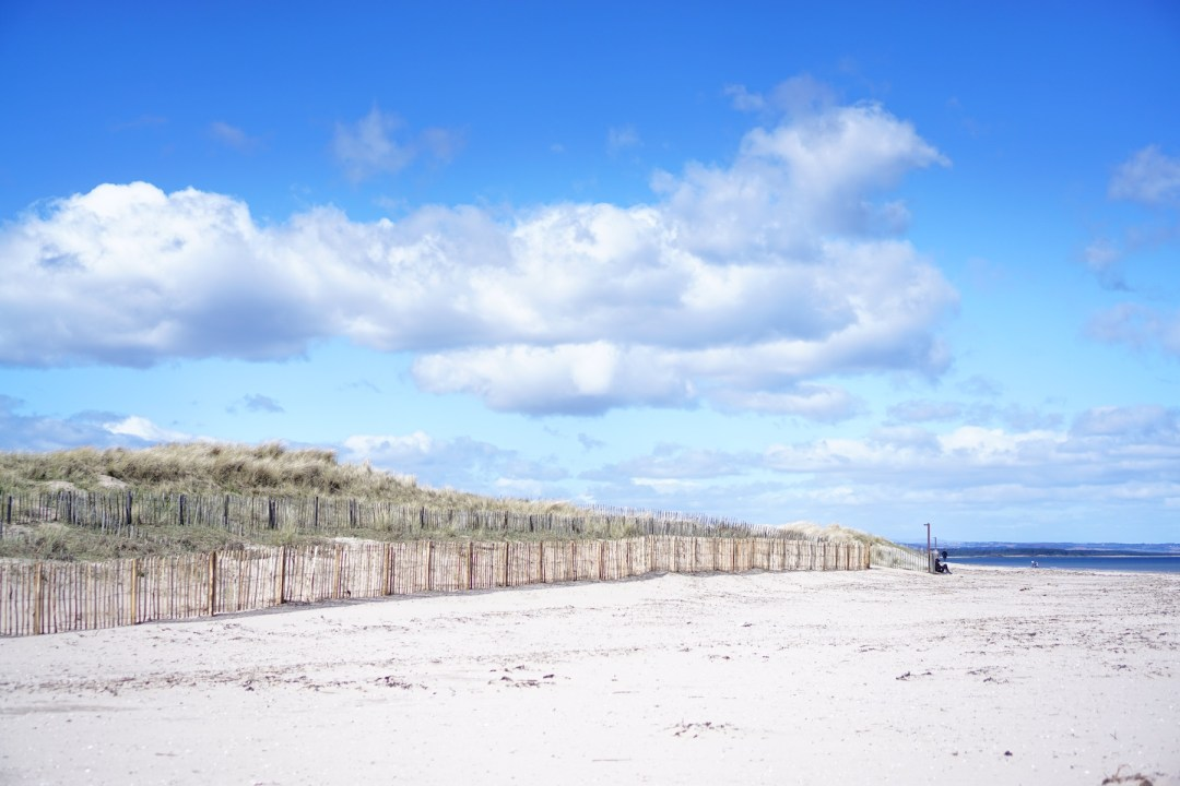 West Sands, St. Andrews, Fife, Scotland, UK