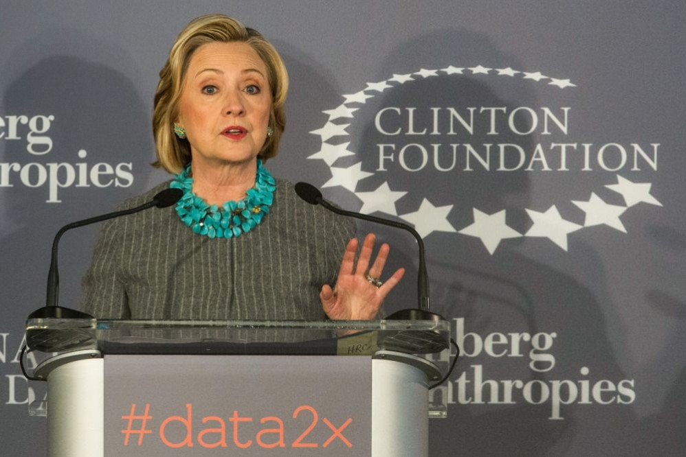 In 2013, The Clinton Foundation Only Spent 10 Percent Of Its Budget On Charitable Grants