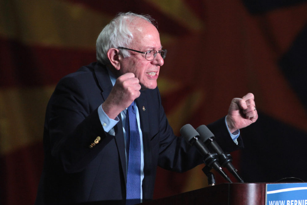 Sen. Bernie Sanders Defends His Attack On Christians