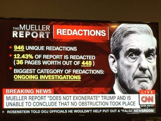 Image result for Mueller Report