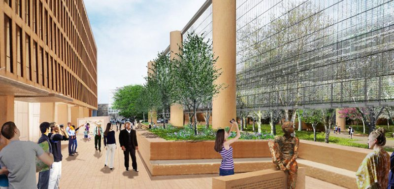 The Eisenhower Memorial to Frank Gehry - Gehry Partners/AECOM