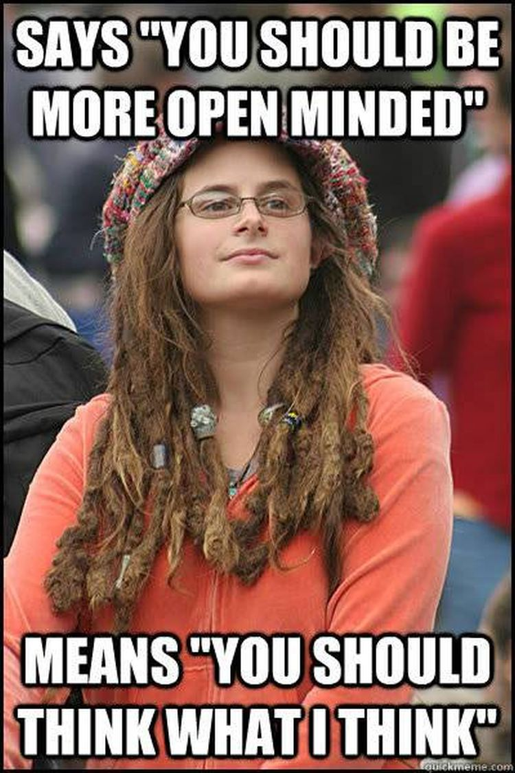 Non Pc Meme Exposes Liberal Hypocrisy On Tolerance