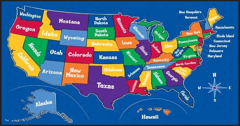 America Conservative Map