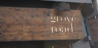 Grove Road Cafe Dublin 6 Sign