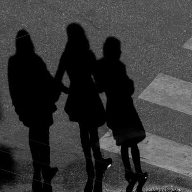 Girls shadows
