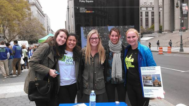 Members of our team at the 2015 NYC NEDA Walk.