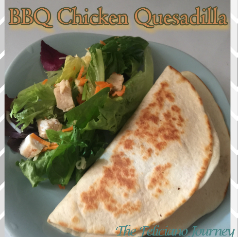The Feliciano Journey bbq-quesadilla