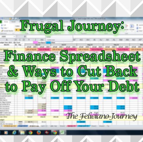 The Feliciano Journey finance-spreadsheet