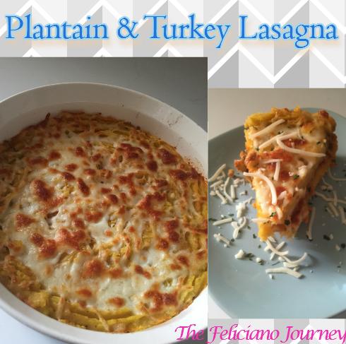 plantain turkey lasagna