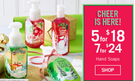 Bath & Body Works Free Item (with $10 purchase) ends today