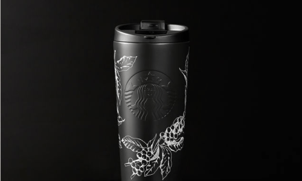 Starbucks coffee tumbler for $40 & get hot coffee/tea every day in January