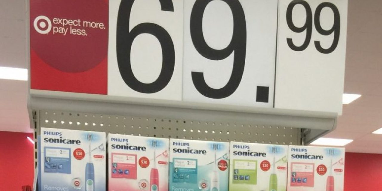 Target Sonicare Plaque Control Toothbrush as low as $27.24