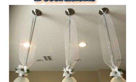 Diy Kitchen Christmas Pendant Lights