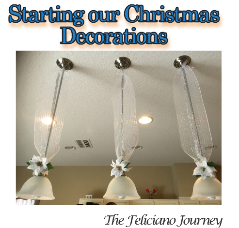 christmas kitchen lights