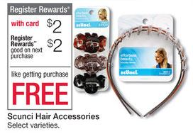 Walgreens Free Scunci after RR starting today