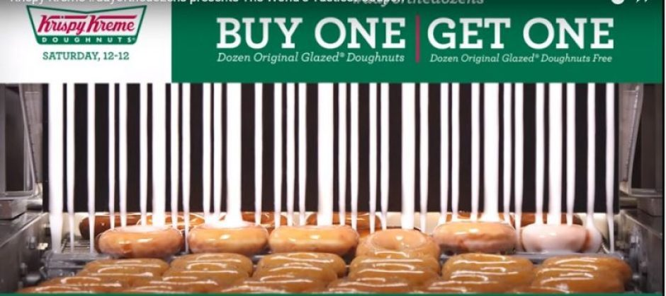 Krispy Kreme Day of the Dozens (BOGO) today only 12/12/15