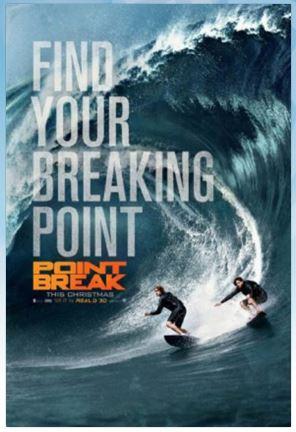 Point Break enter sweepstakes Charlotte, NC & Nashville, TN