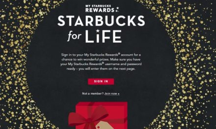 Starbucks for Life Giveaway so far so good..