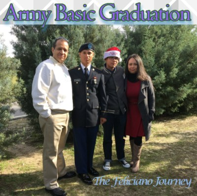 Proud Army Family – Army Basic Graduation