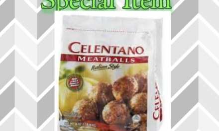 Publix Celentano Meatballs as low as $1.00 (starts today)