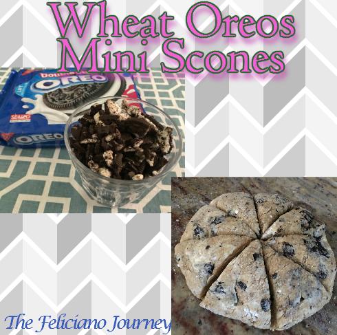 wheat oreo mini scones