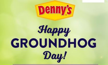 Happy Groundhog Day & Coupon from Denny's