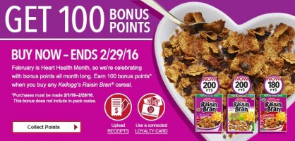 2 new Kelloggs Family Reward codes
