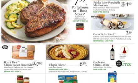 Publix Highlights for the week starting 2/18/16 (today)