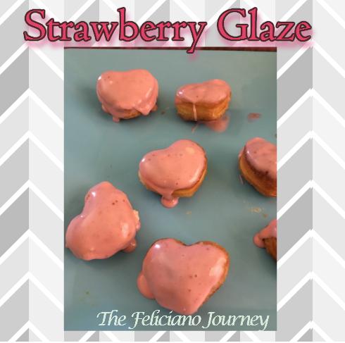 The Feliciano Journey strawberry-glaze