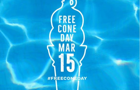 DQ Free Small Vanilla Cone (Today Only 3/15/16)