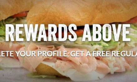 JerseyMikes Free Regular Sub by signing up
