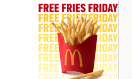 McDonalds FREE Fries Friday – coupon valid today only